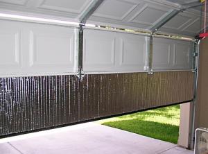 Garage doors | Is insulating a non-insulated garage door