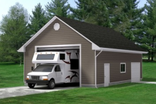 What Size Garage Do You Need for Your SUV or RV?