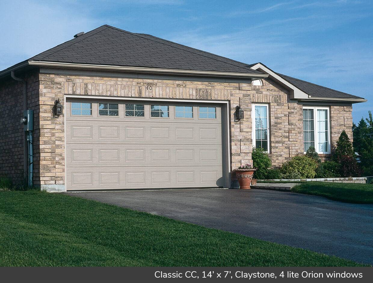 Classic CC, 14' x 7', Claystone, 4 lite Orion windows